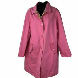 Jones New York Reversible Raincoat